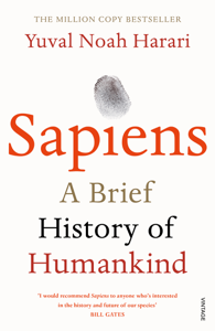 Sapiens Boekomslag