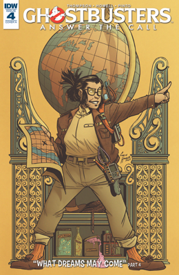 Ghostbusters: Answer the Call #4 - Kelly Thompson & Corin Howell book