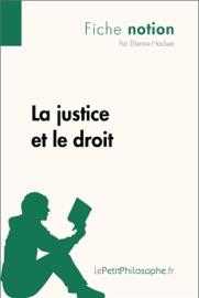 La Justice Et Le Droit Fiche Notion