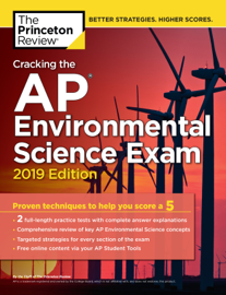Cracking the AP Environmental Science Exam, 2019 Edition book