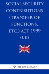 Social Security Contributions Transfer Of Functions Etc Act 1999 UK