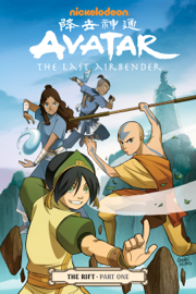 Avatar: The Last Airbender - The Rift Part 1 door Avatar: The Last Airbender - The Rift Part 1