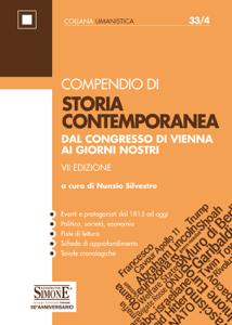 Compendio di Storia Contemporanea Libro Cover