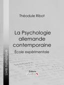 La Psychologie allemande contemporaine Book Cover