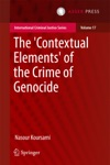 The Contextual Elements Of The Crime Of Genocide
