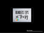 Numbers Tips and Tricks