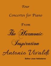 Four Concertos For Piano From The Harmonic Inspiration - Antonio Vivaldi