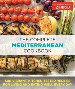 The Complete Mediterranean Cookbook by America's Test Kitchen Book Cover