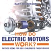 How Do Electric Motors Work Physics Books For Kids  Childrens Physics Books