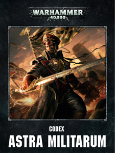 Codex: Astra Militarum Enhanced Edition Copertina del libro