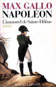 L'immortel de Sainte-Hélène - 1812-1821 La couverture du livre martien