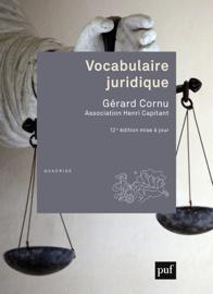 Vocabulaire juridique