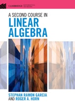 A Second Course In Linear Algebra
