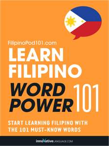 Learn Filipino - Word Power 101 Copertina del libro