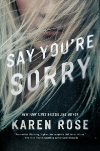 Say You're Sorry Book Cover