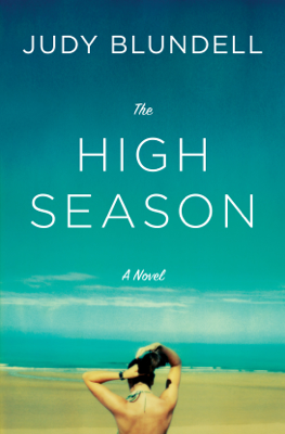 The High Season - Judy Blundell book
