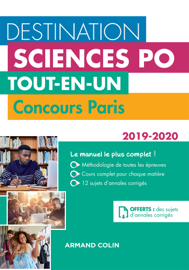 Destination Sciences Po - Tout-en-un - Concours Paris 2019-2020