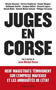 Juges en Corse La couverture du livre martien