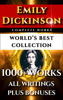 Emily Dickinson & Darryl Marks - Emily Dickinson Complete Works – World's Best Collection artwork