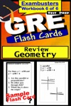 GRE Test Prep Geometry Review--Exambusters Flash Cards--Workbook 6 Of 6