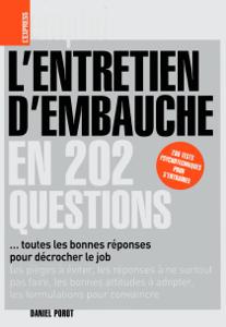 L'entretien d'embauche en 202 questions La couverture du livre martien