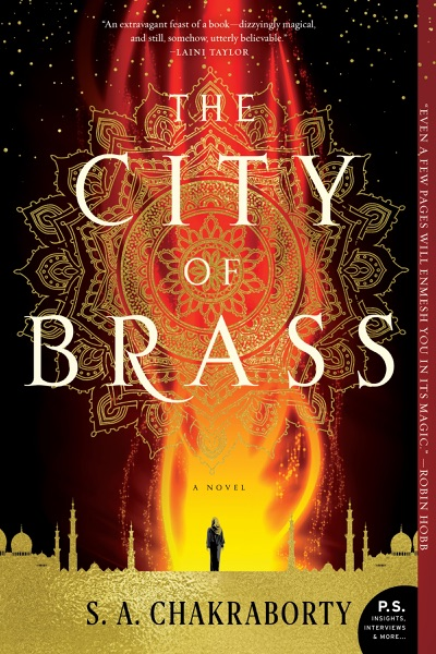 The City of Brass - S.A. Chakraborty book cover