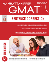 GMAT Sentence Correction book