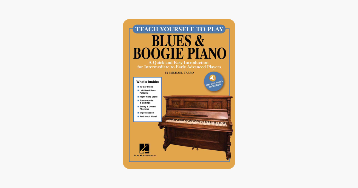 Teach Yourself to Play Blues & Boogie Piano on Apple Books