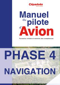 PHASE 4 du manuel avion PPL La couverture du livre martien