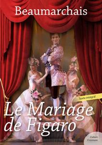 Le Mariage de Figaro La couverture du livre martien