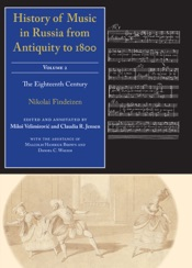 Download History of Music in Russia from Antiquity to 1800, Vol. 2