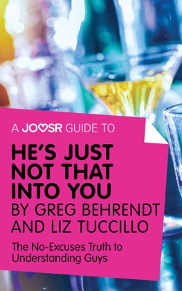 A Joosr Guide to... He's Just Not That Into You by Greg Behrendt and Liz Tuccillo image