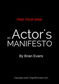 An Actor's Manifesto
