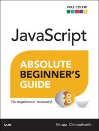 Javascript Absolute Beginner S Guide 1 E