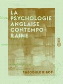 La Psychologie anglaise contemporaine Book Cover