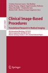 Clinical Image-Based Procedures Translational Research In Medical Imaging