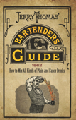 Jerry Thomas' Bartenders Guide Book Cover