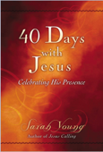 40 Days With Jesus Book Cover
