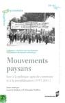 Mouvements Paysans Face  La Politique Agricole Commune Et  La Mondialisation 1957-2011