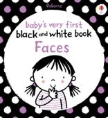 Baby's Very First Black and White Book Faces