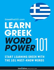 Learn Greek - Word Power 101 book