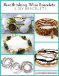 Breathtaking Wire Bracelets-5 DIY Bracelets