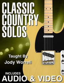 Classic Country Guitar Solos with Audio & Video
