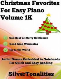 CHRISTMAS FAVORITES FOR EASY PIANO VOLUME 1 K
