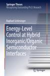 Energy-Level Control At Hybrid InorganicOrganic Semiconductor Interfaces