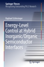 Energy-Level Control At Hybrid Inorganic/Organic Semiconductor Interfaces