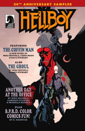 Hellboy 20th Anniversary Sampler book