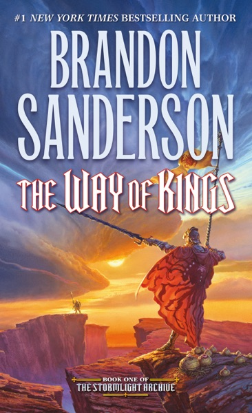 The Way of Kings - Brandon Sanderson book cover