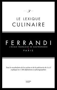 Le lexique culinaire de Ferrandi La couverture du livre martien