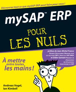MySAP ERP pour les nuls La couverture du livre martien